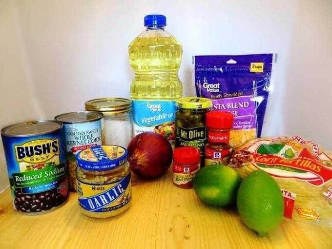 Corn & Black Bean Baked Taquitos - Tammilee Tips