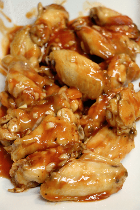 how to make barbecue chicken wings in the crockpot