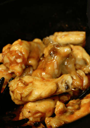 Slow cooker chicken wings 5