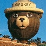 smokey bear balloon