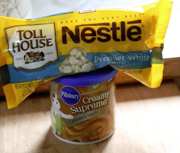 2 ingredient caramel apple fudge ingredients