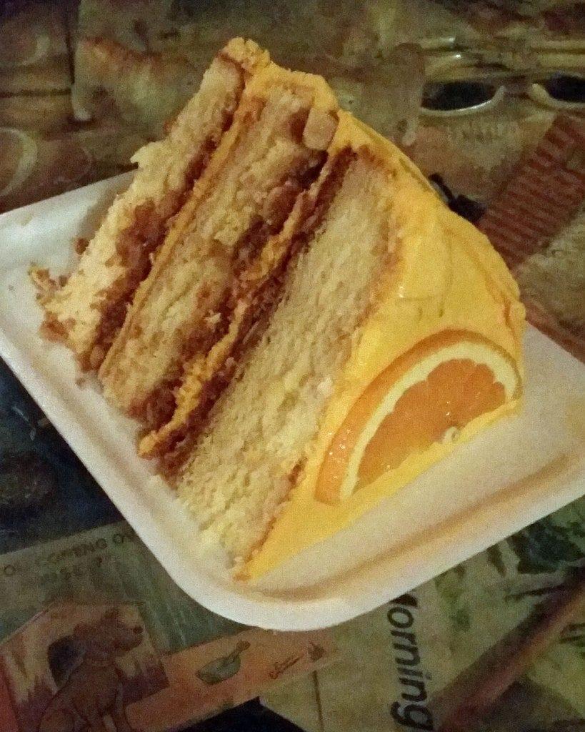 Cake at Bubble Room Captiva Island