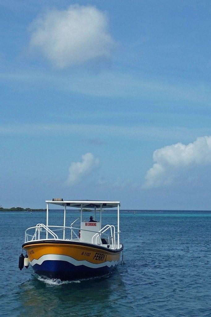 Ferry to DePalm Island Aruba