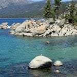 Hiking along Beautiful Lake Tahoe