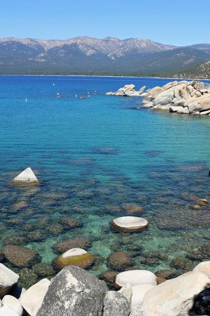 Lake Tahoe recreationalists