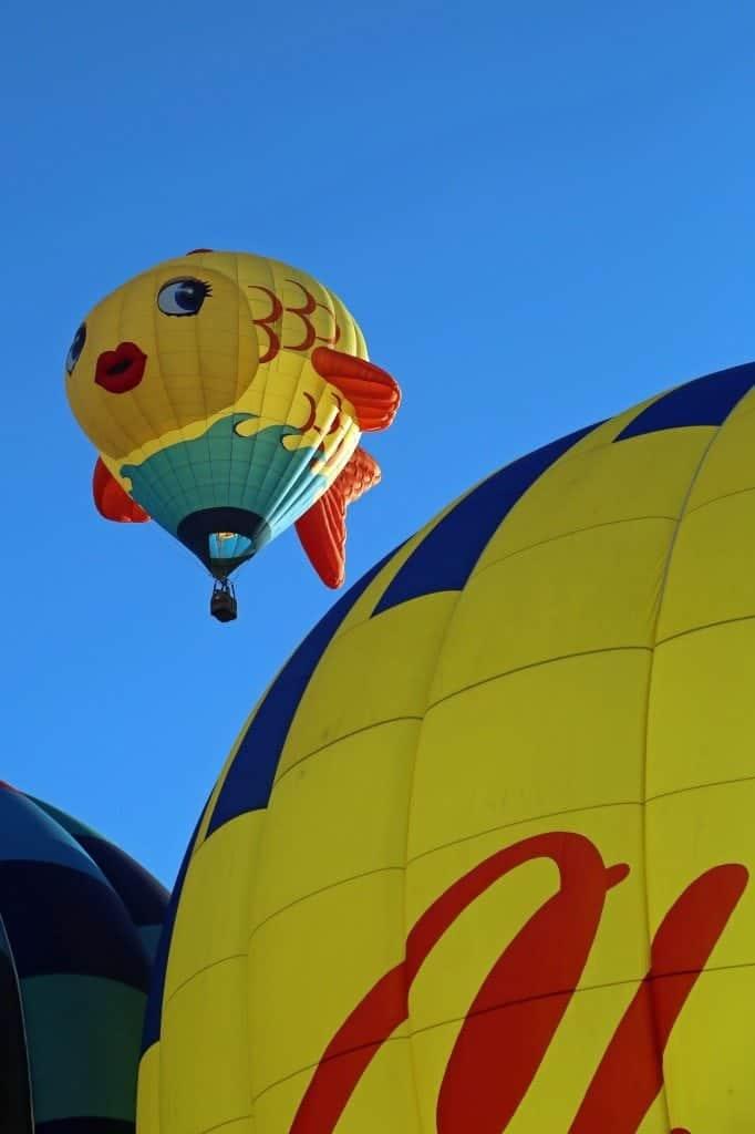 Mass Ascension at the Reno Hot Air Baloon Race