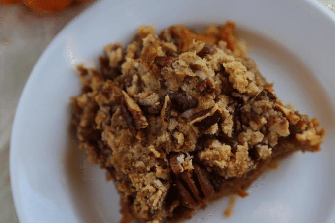 Pumpkin Pie Bar Recipe