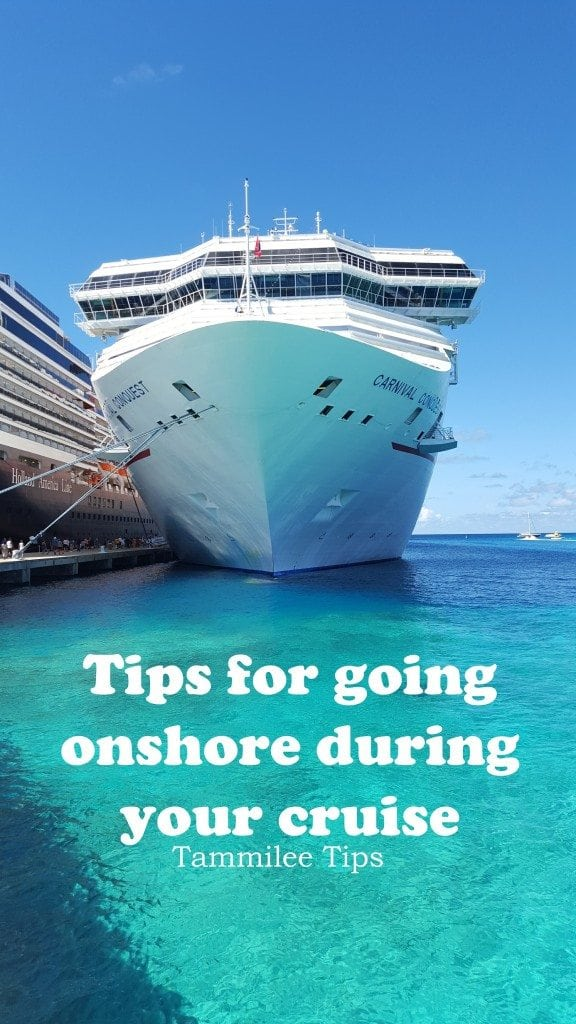 Tips for going onshore from your cruise ship