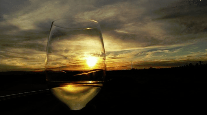 Walla Walla sunset at amavi