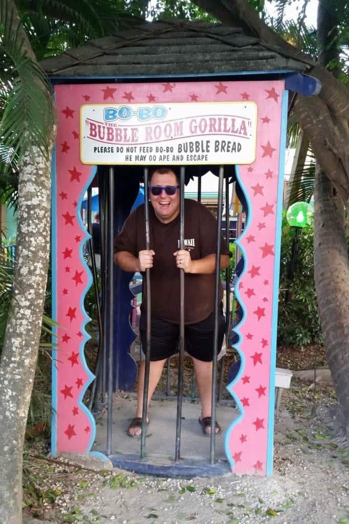 bubble room gorilla Captiva Island