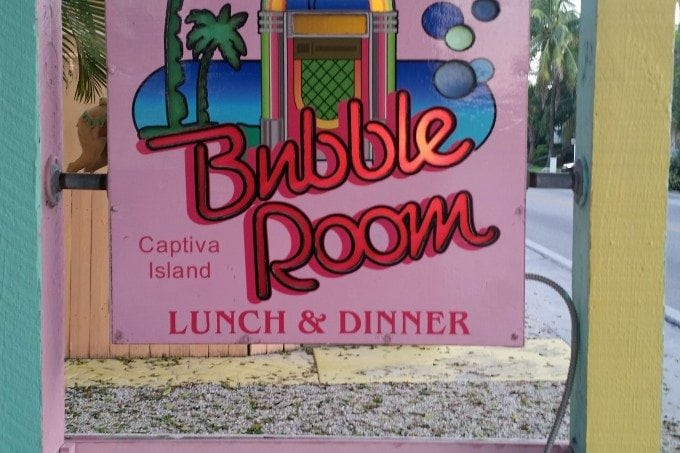 The Bubble Room on Captiva Island