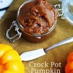 crock pot pumpkin butter