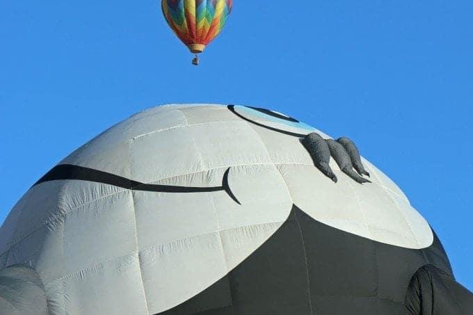 Reno Hot Air Balloon Mass Ascension