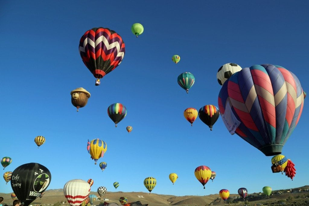 launch time for Mass Ascension Reno Hot Air Baloon Rac