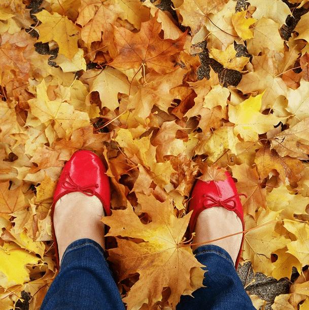 leaves spokane red shoes