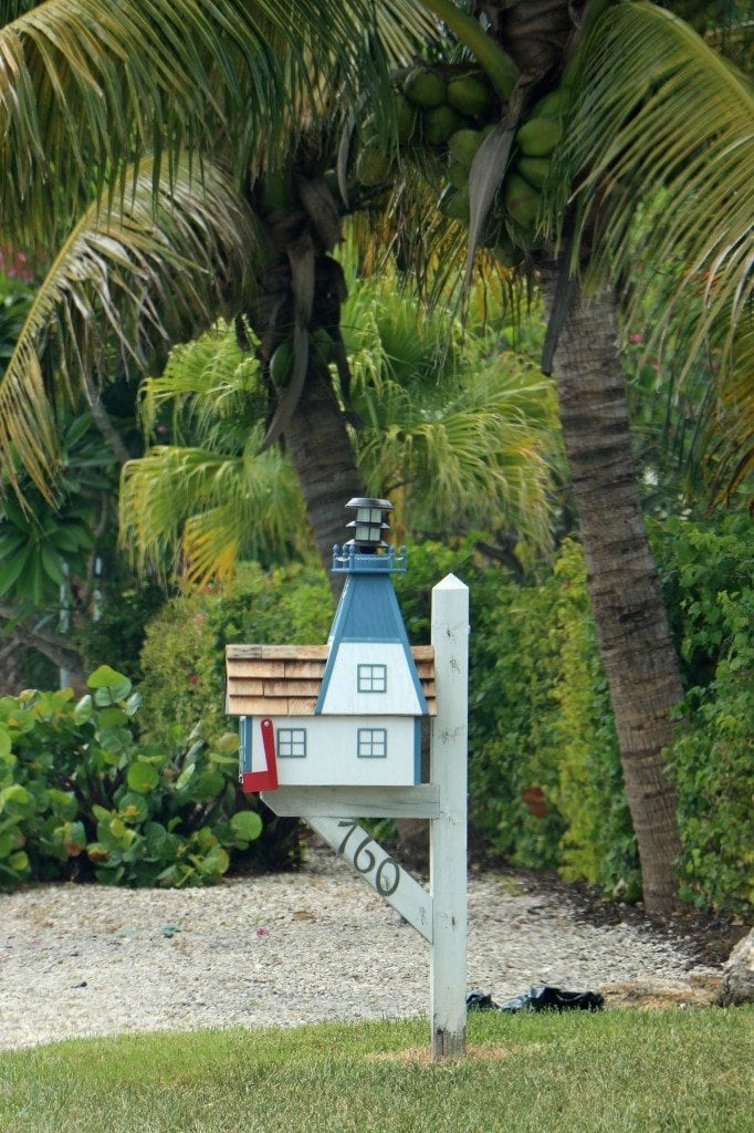 lighthouse mailbox Sanibel