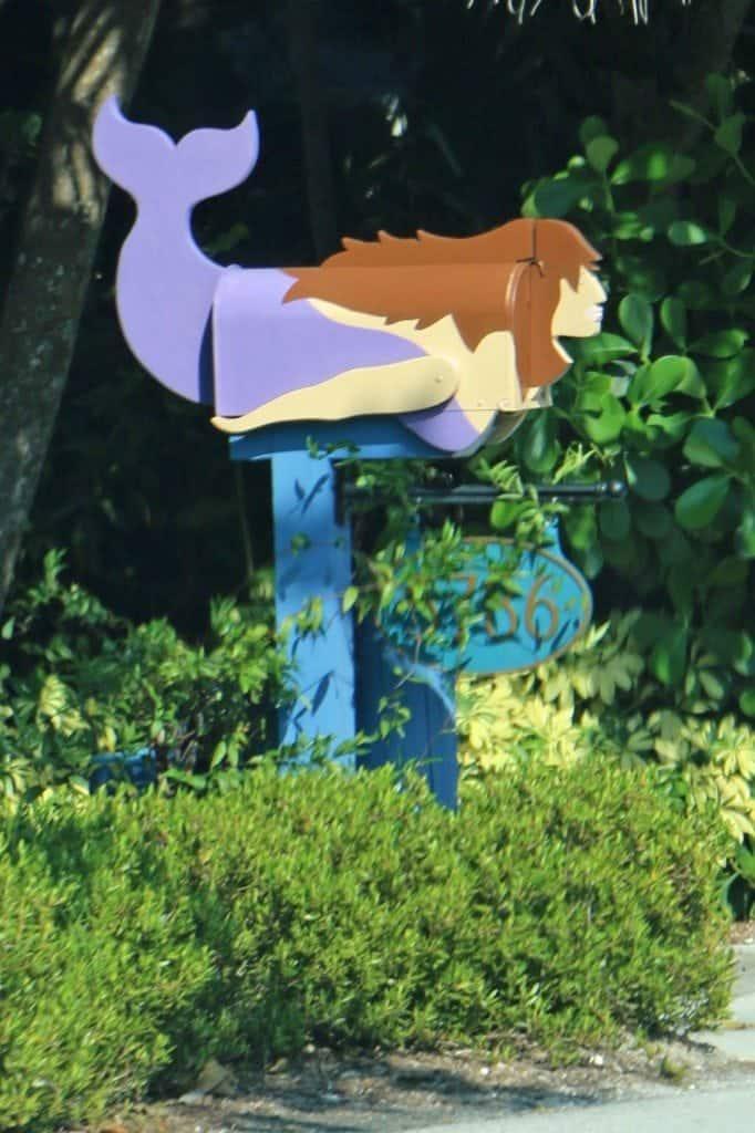 mermaid mailbox Sanibel