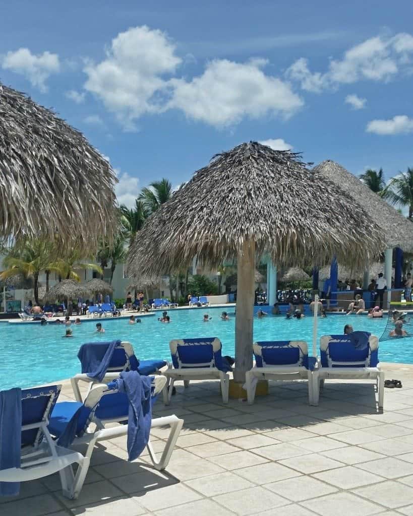 pool in Dominician Republic