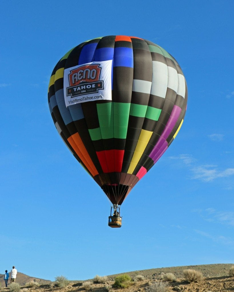 watching the Reno Hot Air Baloon Race