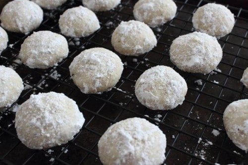 Snowball Cookies completed