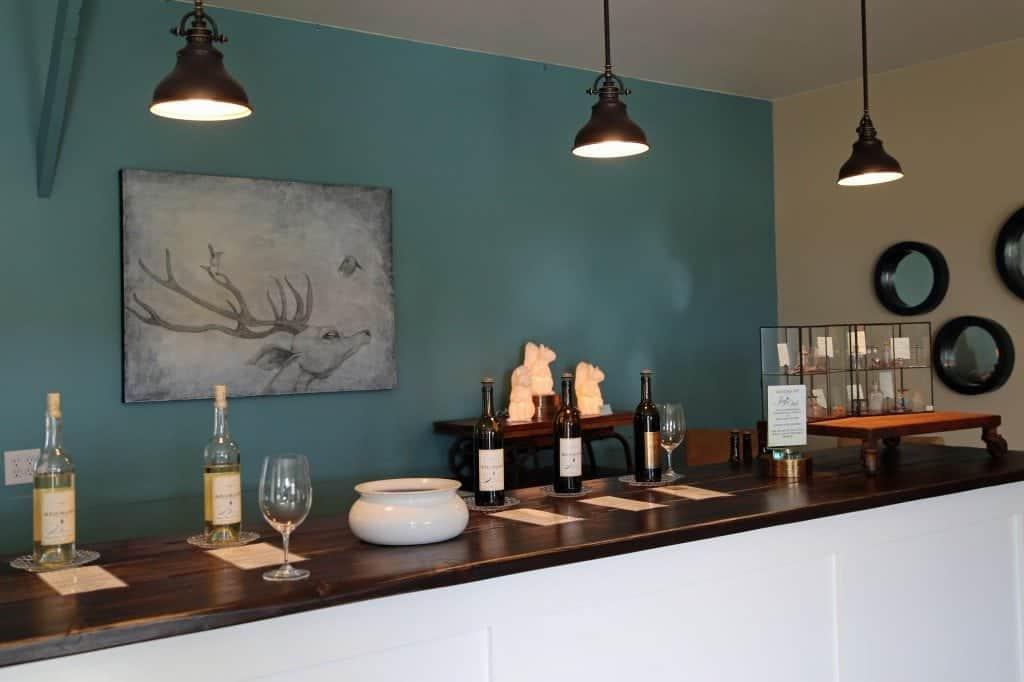 Adamant Cellars tasting room