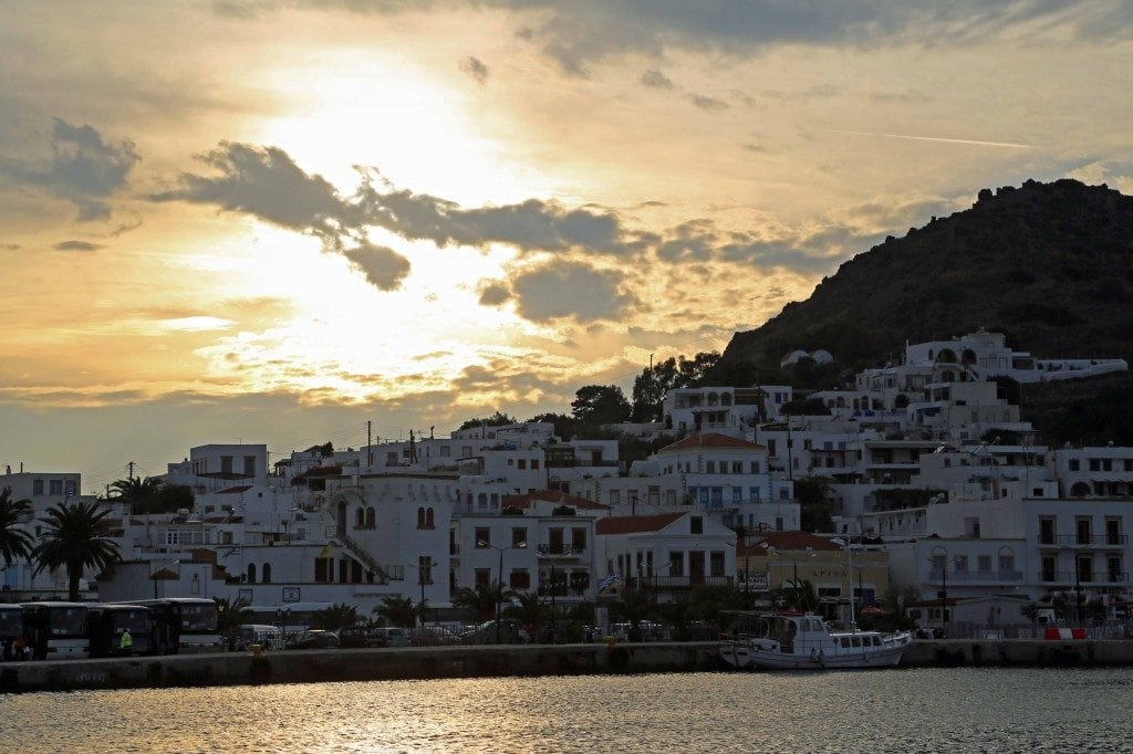 Blog Arriving in Patmos Greece by cruise ship