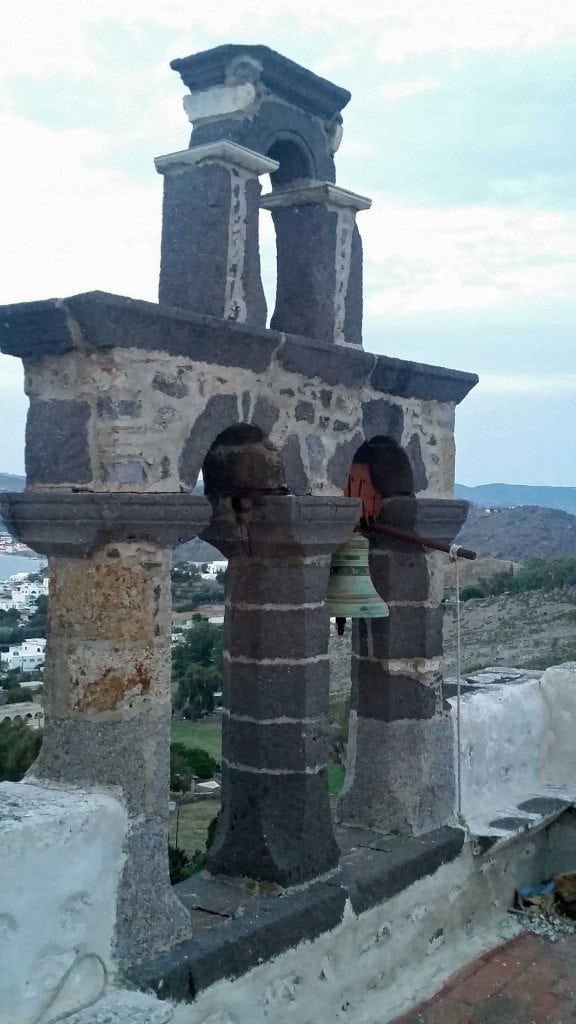 Blog church bells in Patmos Greece