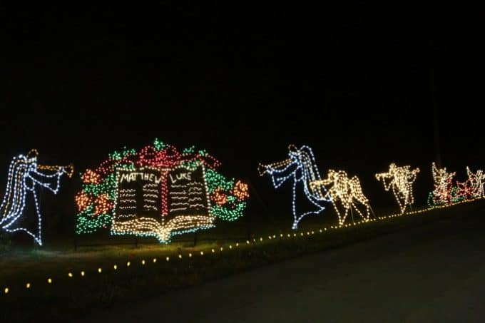 drive thru christmas lights myrtle beach