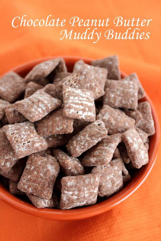 Chocolate Peanut Butter Muddy Buddies Recipe