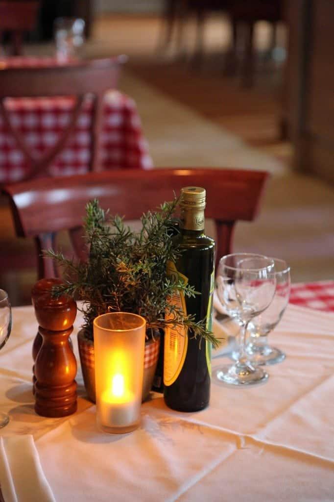 Dinner at Cucina Del Capitano