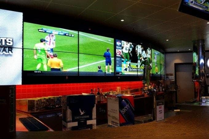 EA Sports Bar on Carnival Cruises