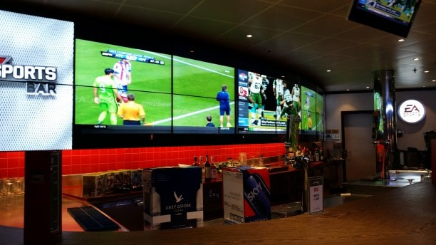 EA Sports Bar on Carnival Cruises