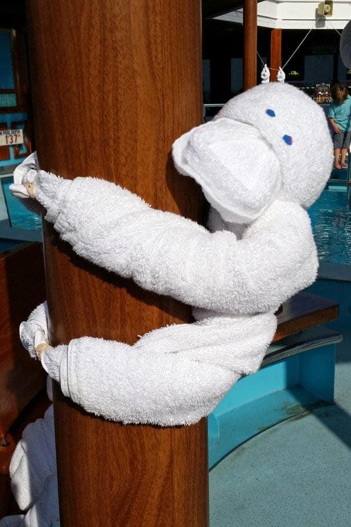 Gorilla Towel Animal Carnival Sunshine