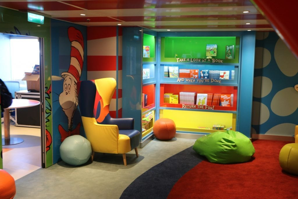 Bookville on the Carnival Freedom