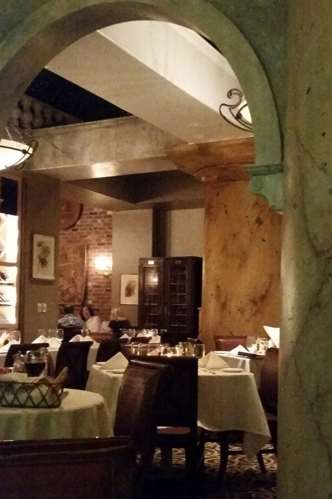 Inside Italian Resteraunt at ElDorado Hotel Reno Nevada