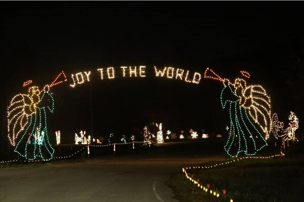 Joy to the World Branson Christmas Lights