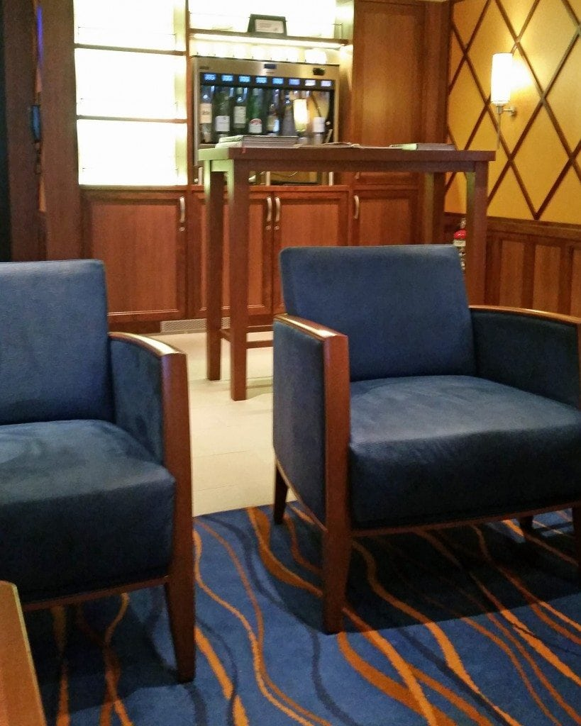 Library Bar with wine bar in background Carnival Sunshine