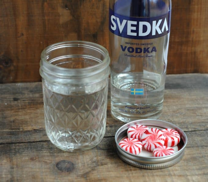 Peppermint Vodka Made From Candy