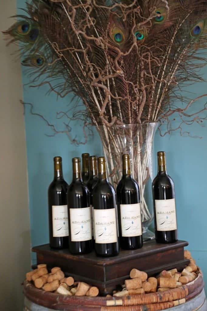 Red Wines at Adamant Cellars