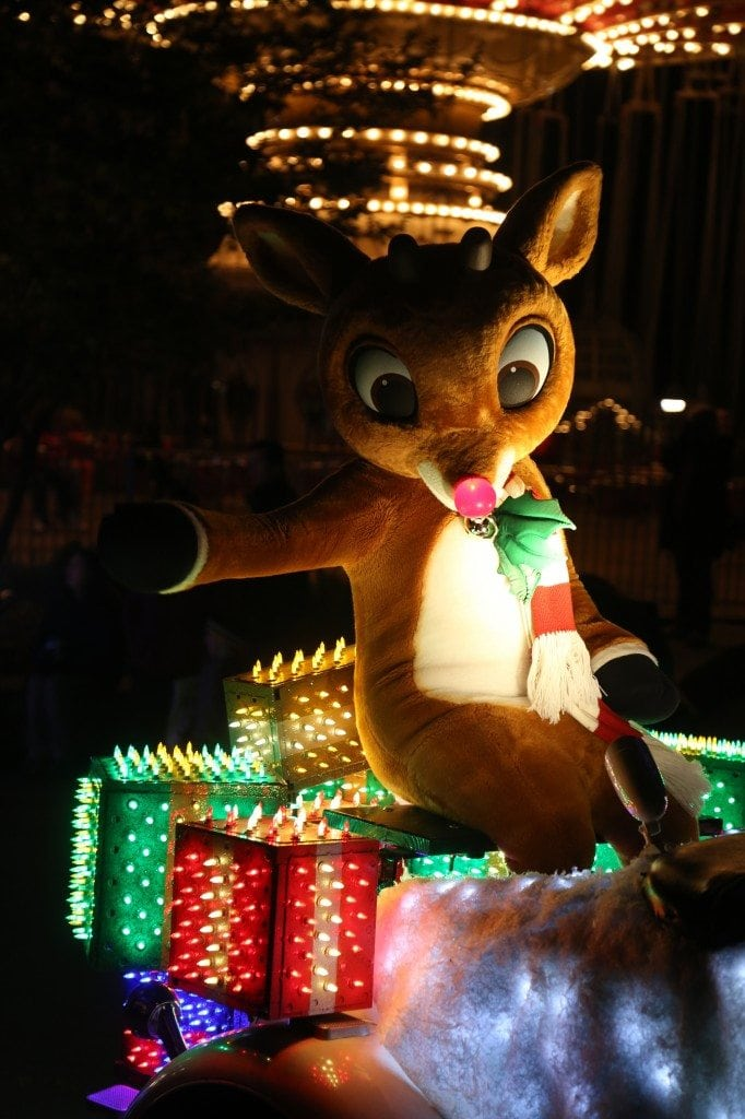 Roudolph in Christmas Parade Silver Dollar City Branson Missouri