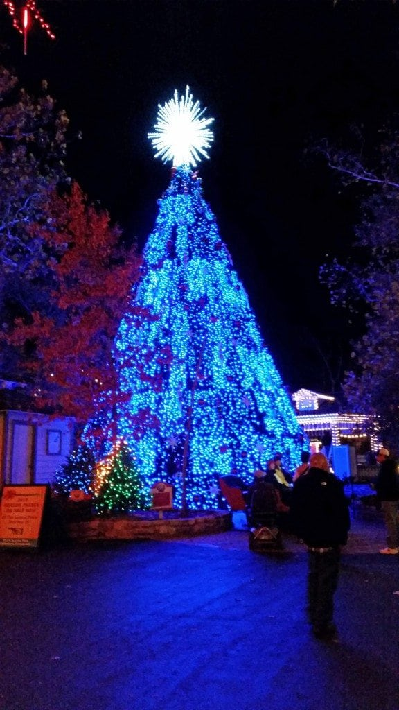 Silver Dollar City Branson Missouri Christmas Tree