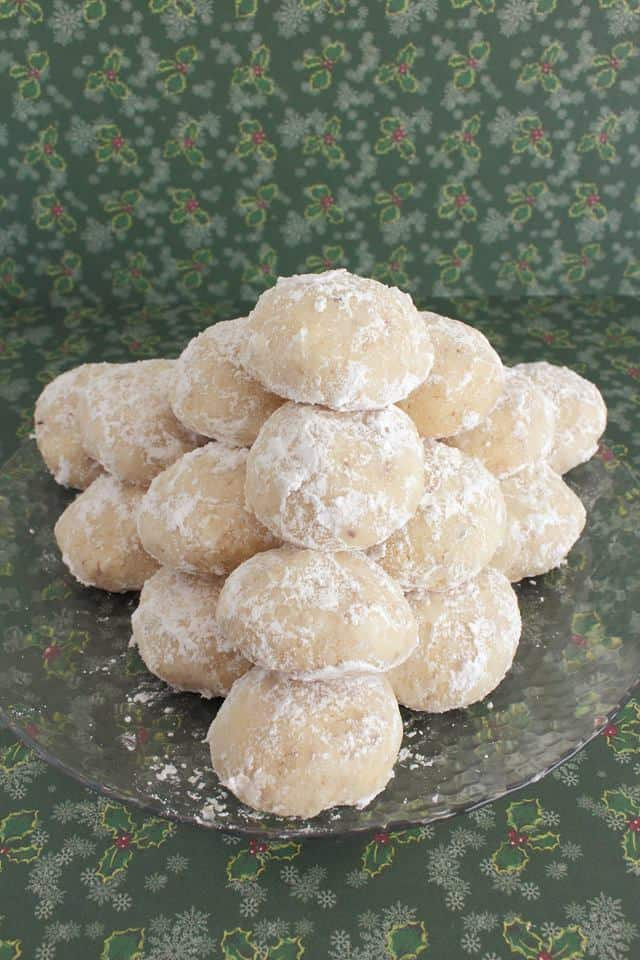Snowball Mexican Wedding Cookies