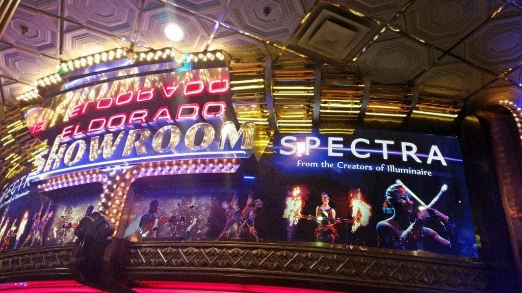 Spectra Showroom at ElDorado Hotel Reno Nevada