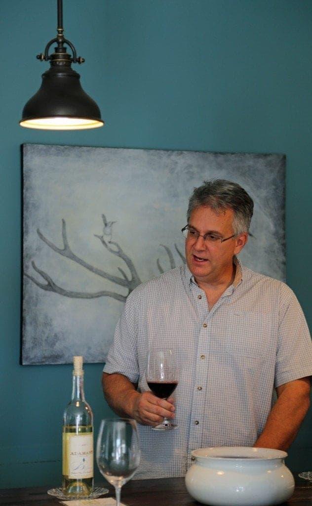 Wine Tasting with owner of Adamant  Cellars