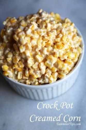 crock pot creamed corn recipe