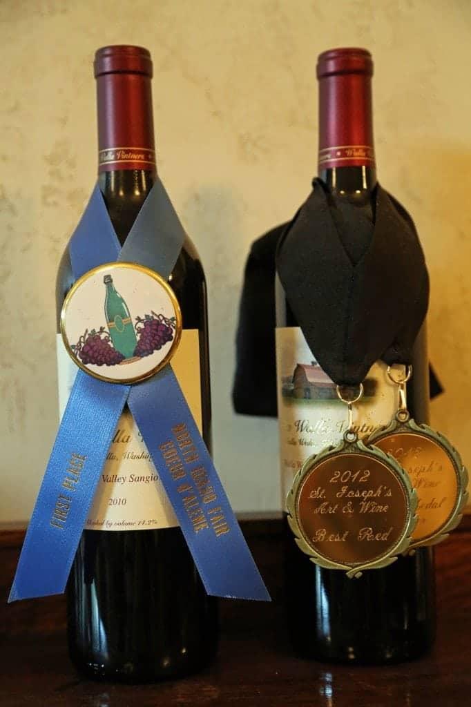 medals for Walla Walla Vinters