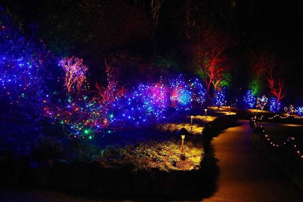 Blog Christmas time at Buchart Gardens Victoria BC