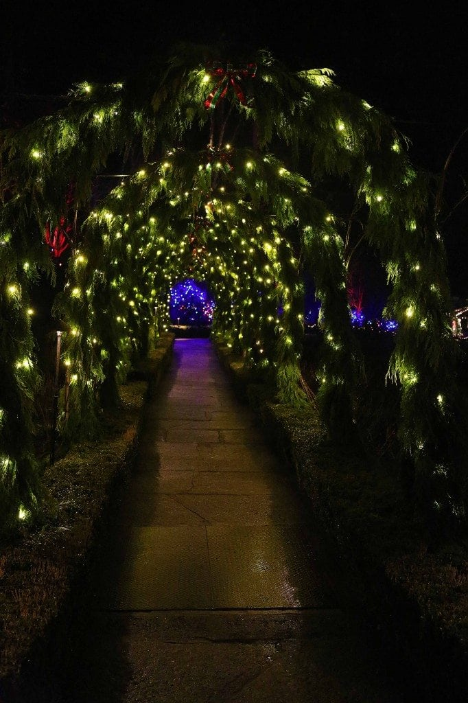 Blog Walkway at Buchart Gardens Victoria BC