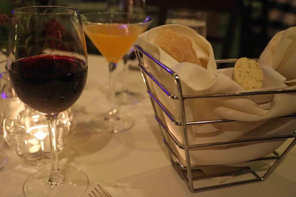 Blog dining at Buchart Gardens Victoria BC