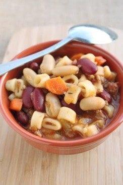 Copy Cat Olive Garden Pasta e Fagioli Soup Recipe